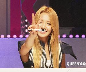 girls, tumblr, and kim hyoyeon image