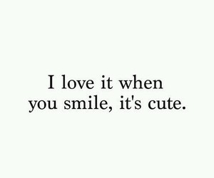 smile, cute, and love image