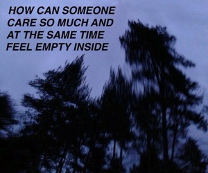 sad, grunge, and empty image