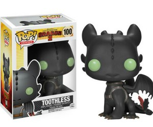 toothless, hiccup, and pop! image