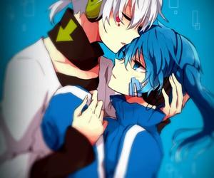 couple, inspiration, and anime couple image