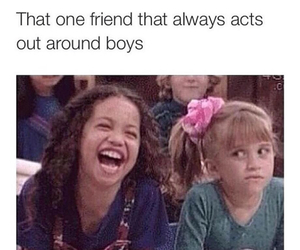 funny, boy, and friends image