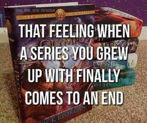 books, series, and percy jackson image