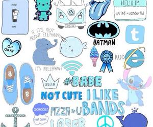 blue, wallpaper, and batman image
