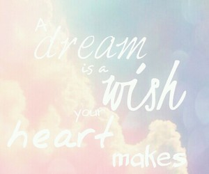 A Dream and wish image