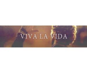 coldplay, music, and viva la vida image