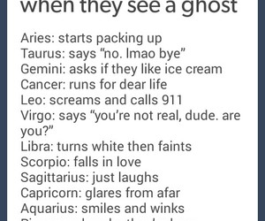 astrology, ghost, and zodiac image