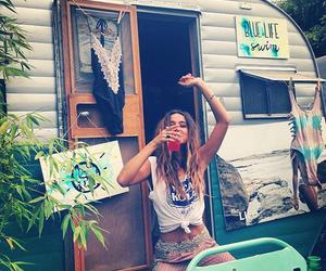 girl, hippie, and boho image