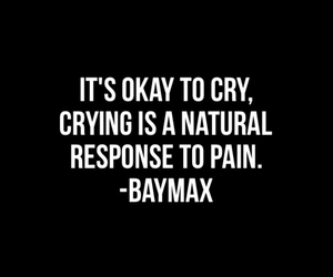 quote, cry, and okay image