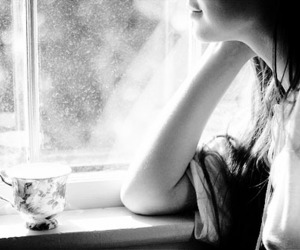 girl, alone, and beauty image