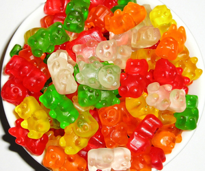 food, candy, and gummy bears image
