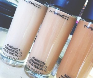 mac, Foundation, and makeup image