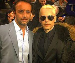 paris fashion week 2015, jared leto is blonde, and jared leto in paris 2015 image