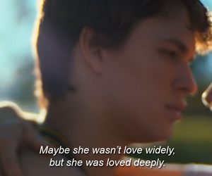 augustus, movie, and the fault in our stars image