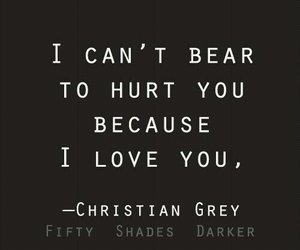 quote, christian grey, and fifty shades of grey image