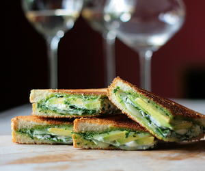 food, avocado, and cheese image