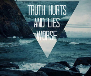lies, truth, and quote image