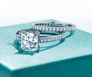 tiffany diamond rings and shine and sparkle image