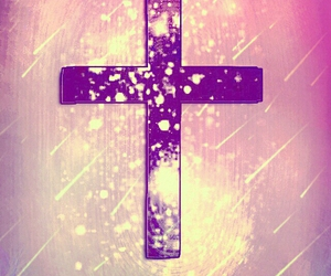 cross, wallpaper, and pink image