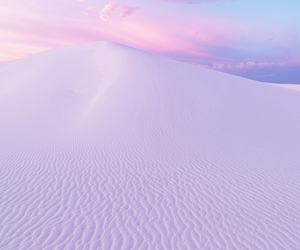 pink, purple, and sand image