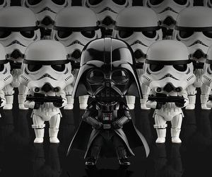 anime, darth vader, and figures image