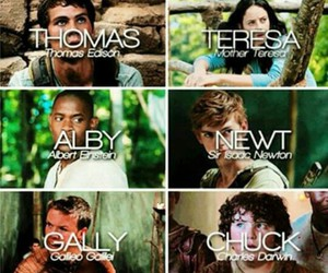 chuck, gally, and newt image