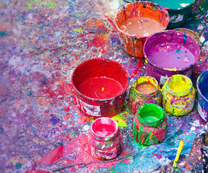 colors, creative, and paint image
