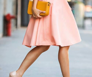 fashion, skirt, and pink image