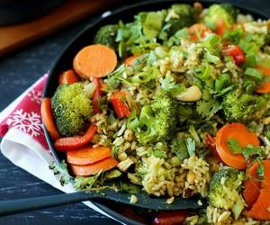 salad, cleanfood, and veggies image