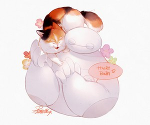 cute and big hero 6 image