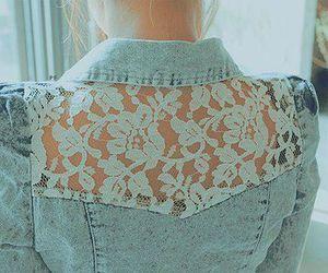 fashion, lace, and jacket image