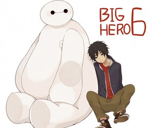 disney, hiro, and cute image