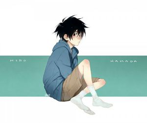 hiro, cute, and big hero 6 image