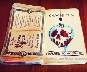 art, wreck this journal, and love image