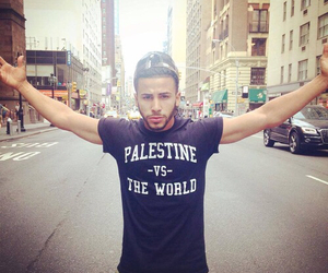 palestine, adam saleh, and world image