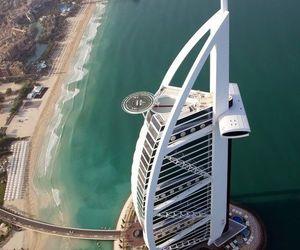 Dubai, beach, and sea image