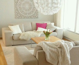 apartment, chandelier, and decor image