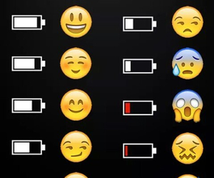 emoji, battery, and funny image