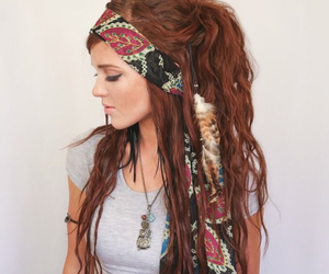 hair, bohemian, and boho image