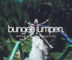 bungee, things to do, and bucketlist image