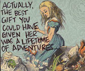 adventure, alice, and alice in wonderland image