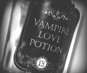 13, vampire, and love potion image
