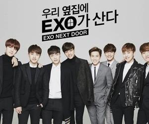 exo, Korean Drama, and exo-k image