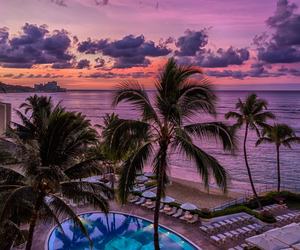 beach, pool, and sunset image