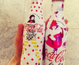 coca cola, drink, and marc jacobs image
