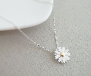 necklace, accessories, and flower image