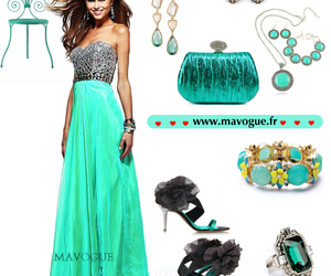 a-line, fashion, and party dress image