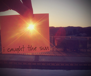 sun, summer, and catch image