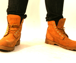 shoes, timberlands, and hidden hype image