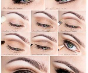 eye makeup, eyes, and make-up image